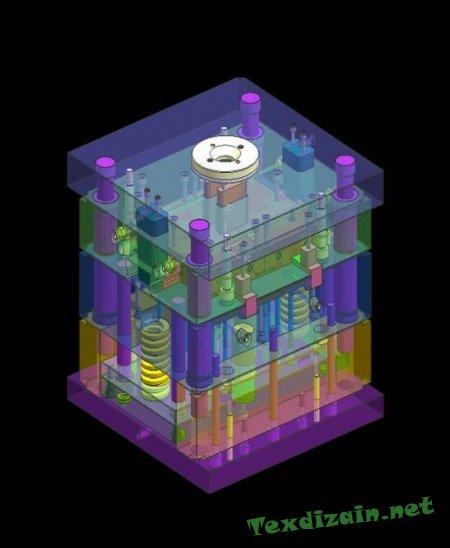 Построение трёхмерных чертежей в КОМПАС-3D