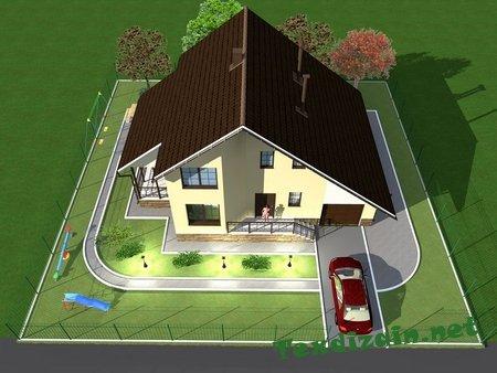 3D моделирование и визуализация в продаже проектов домов